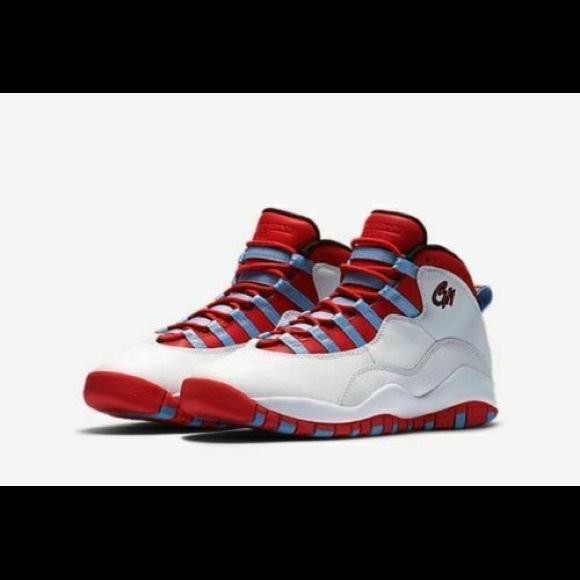 super popular aafb6 e2e6c Big Kid Boys Air Jordan 10 Retro Chicago Sneakers